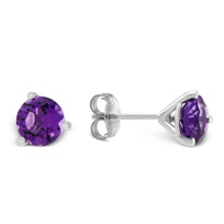 14K_White_Gold_Round_Faceted_Amethyst_Stud_Earrings,_6mm