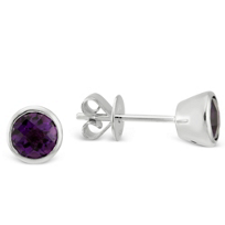 14K_White_Gold_Bezel_Set_Amethyst_Earrings,