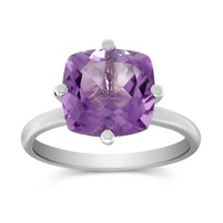 14K_White_Gold_Cushion_Amethyst_Ring