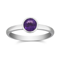14K_White_Gold_Bezel_Set_Round_Amethyst_Ring