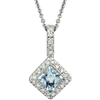 14K_White_Gold_Checkerboard_Aquamarine_and_Diamond_Pendant