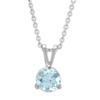 14K_White_Gold_Round_Aquamarine_Solitaire_Pendant,_6mm