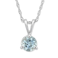 14K_White_Gold_Round_Aquamarine_Pendant,_5mm