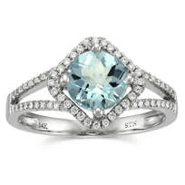 14K_White_Gold_Round_Aquamarine_and_Round_Diamond_Ring