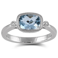 14K_White_Gold_Cushion_Aquamarine_and_Round_Diamond_Ring