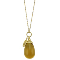 18K_Yellow_Gold_Citrine_Drop_Pendant