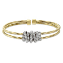 18K_Yellow_and_White_Gold_Diamond_Double_Cuff_Bracelet