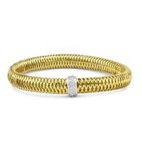 Roberto_Coin_18K_Yellow_and_White_Gold_Primavera_Diamond_Bangle_Bracelet