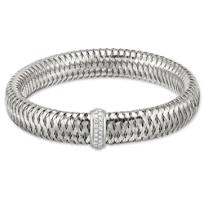 Roberto_Coin_18K_White_Gold_Diamond_Primavera_Bangle_Bracelet,_0.25cttw
