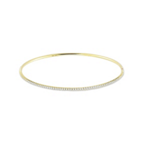 Roberto_Coin_18K_Yellow_Gold__Diamond_Oval_Bangle_Bracelet