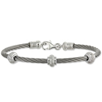 Sterling_Silver_&_Stainless_Steel_Diamond_Cable_Bracelet