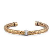 Roberto_Coin_18K_Rose_and_White_Gold_Primavera_Diamond_Cuff_Bracelet
