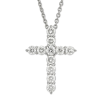 Roberto_Coin_18K_White_Gold_Diamond_Cross_Pendant,_1.44cttw