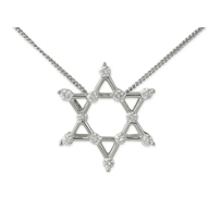 18K_White_Gold_Diamond_Star_of_David_Pendant,_0.32cttw