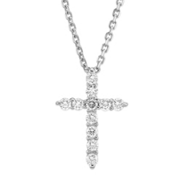 14K_White_Gold_Diamond_Cross_Pendant,_0.25cttw