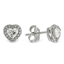 14K_White_Gold_Heart_Shape_and_Round_Diamond_Earrings
