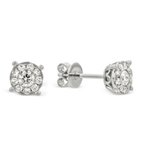 18K_White_Gold_Round_Diamond_Halo_Earrings,_0.52cttw