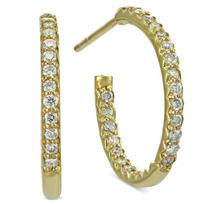 Roberto_Coin_18K_Yellow_Gold_Diamond_Hoop_Earrings
