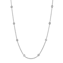 Roberto_Coin_18K_White_Gold_Bezel_Set_Diamond_Station_Necklace,_18""