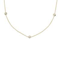 Roberto_Coin_18K_Yellow_Gold_Bezel_Set_Diamond_Station_Necklace,_17""