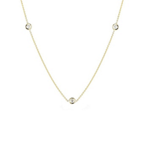 Roberto_Coin_18K_Yellow_Gold_Diamond_Chain,_18""