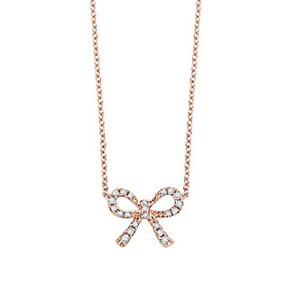 14K_Rose_Gold_Diamond_Mini_Bow_Necklace