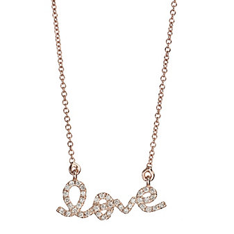 14K_Rose_Gold_Round_Diamond_Love_Necklace