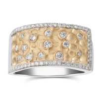 18K_Yellow_and_White_Gold_Round_Diamond_Textured_Band