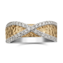 18K_Yellow_and_White_Gold_Diamond_Criss_Cross_Textured_Ring