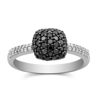 14K_White_Gold_Black_and_White_Diamond_Ring