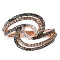 14K_Rose_Gold_Brown,_Black_and_White_Diamond_Swirl_Ring,_0.70cttw