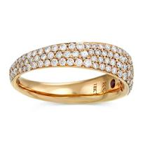 Roberto_Coin_18K_Rose_Gold_Scalare_Diamond_Ring,_0.67cttw