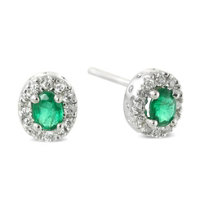 14K_Emerald_and_Diamond_Earrings