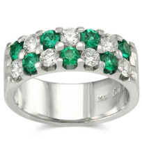 14K_Emerald_and_Diamond_Ring