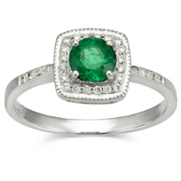 18K_White_Gold_Round_Emerald_and_Round_Diamond_Square_Halo_Ring
