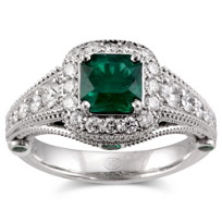 Christopher_Designs_18K_White_Gold_Cushion_Emerald_and_Round_Diamond_Ring