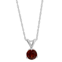 14K_White_Gold_Round_Garnet_Solitaire_Pendant,_6mm