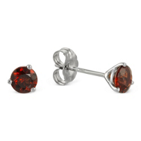14K_White_Gold_Round_Garnet_Stud_Earrings,_4mm
