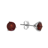 14K_White_Gold_Round_Garnet_Stud_Earrings,_6mm