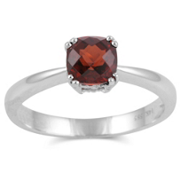 14K_White_Gold_Cushion_Checkerboard_Garnet_Prong_Set_Ring,_6mm