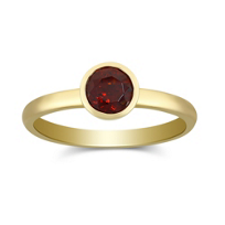 14K_Yellow_Gold_Bezel_Set_Round_Garnet_Ring