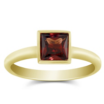 14K_Yellow_Gold_Bezel_Set_Princess_Cut_Garnet_Ring
