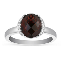 14K_White_Gold_Oval_Garnet_and_Round_Diamond_Ring.