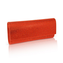 Judith_Leiber_Orange_Crystal_Clutch