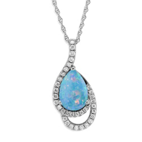 14K_White_Gold_Pear_Shape_Opal_and_Round_Diamond_Pendant
