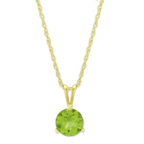 14K_Yellow_Gold_Peridot_Solitaire_Pendant,_6mm