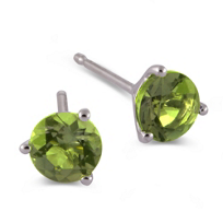 14K_White_Gold_Round_Peridot_Stud_Earrings,_4mm