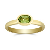 14K_Yellow_Gold_Bezel_Set_Oval_Peridot_Ring