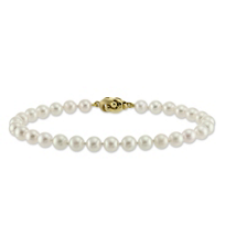 14K_Yellow_Gold_5.5x6mm_White_Cultured_Pearl_Bracelet