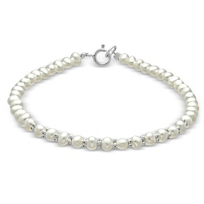 14K_White_Gold_Children's_Freshwater_Cultured_Pearl_Bracelet,_6""